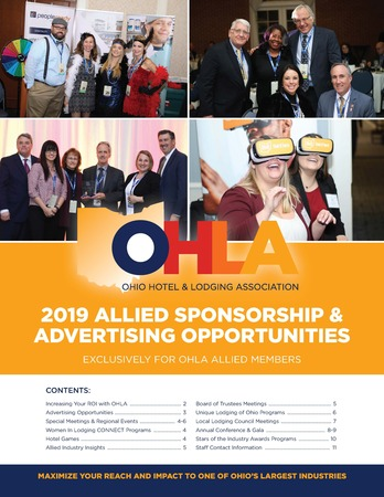 Sponsorship Front Page 2019